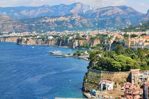 From Naples: Sorrento & Amalfi Coast 8-Hour Tour