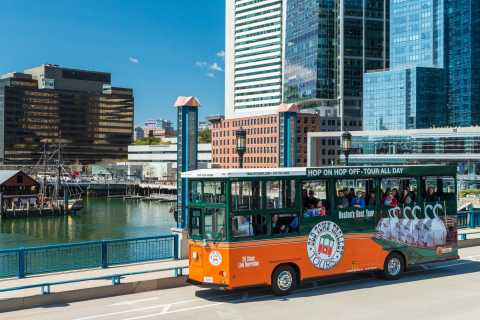 Boston: Sightseeing Trolley Tour