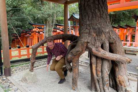 Kyoto: tour guidato a piedi del santuario di Fushimi Inari di 1 ora