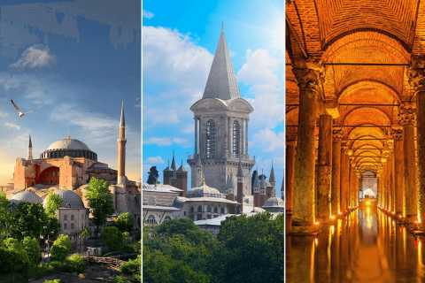 Istanbul: biglietto per Santa Sofia, Topkapi e Cisterna