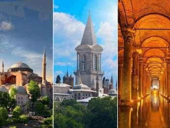Istanbul: Kombi-Ticket zu Hagia Sophia, Topkapi & Basilika