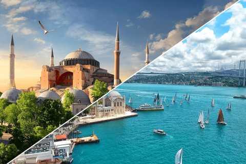 Istanbul: Hagia Sophia Admission and Bosphorus Cruise