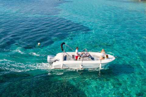 Trogir: Private Speedboat Three Islands and Blue Lagoon Tour