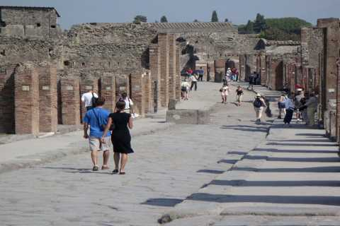 Sorrento: Pompeii & Herculaneum Tour with Skip-the-Line
