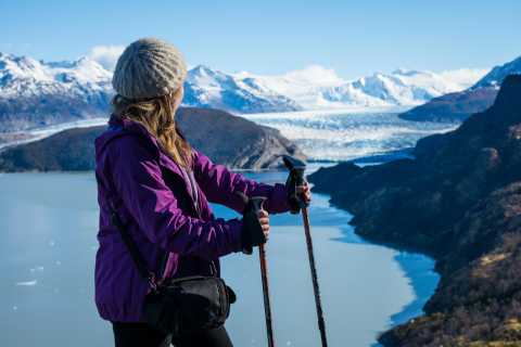 Ab Puerto Natales: Wanderung Nationalpark Torres del Paine