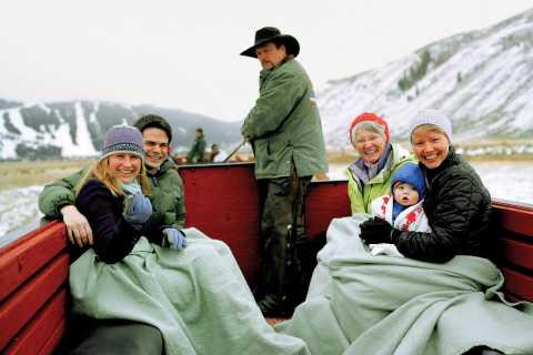 Grand Teton National Park: Wildlife Tour and Sleigh Ride