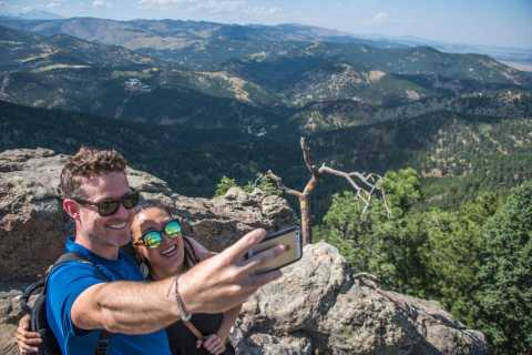 Boulder Hike & Beer with Local Guide