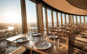Sydney: Unlimited Skyfeast at Sydney Tower with Window Table