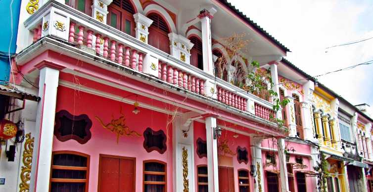 Phuket: Old Town Private Tour with Dinner