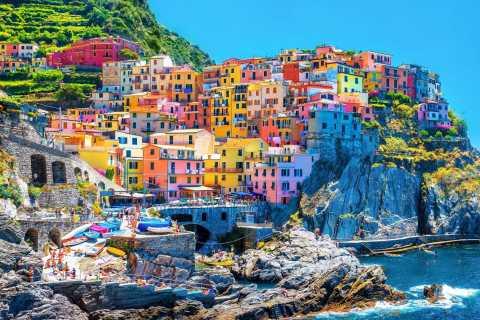 Cinque Terre: tour di 1 giorno da Milano