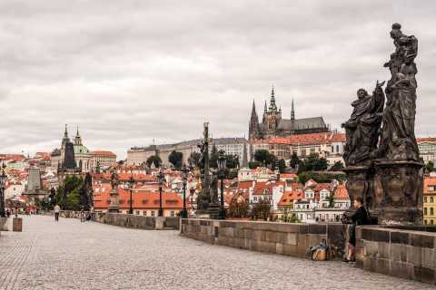Prague: Castle, National Museum, and Old Town Hall