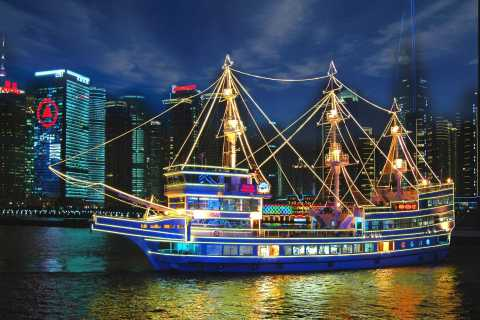 Shanghai: Huangpu River Scenic Cruise with Buffet Dinner