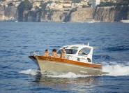 Sorrento: Ganztägige Amalfiküste, Amalfi & Positano Bootstour