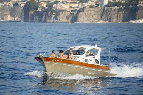 Sorrento: Full-Day Amalfi Coast, Amalfi & Positano Boat Tour