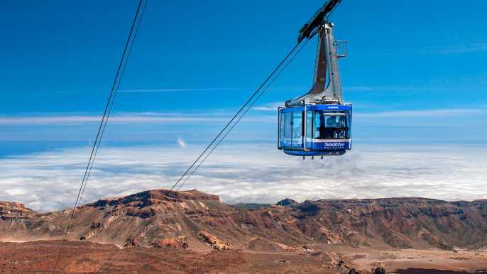 Mount Teide: Cable Car Ticket