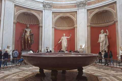 Vaticano e Coliseu: Passe Prioritário de 2 Dias
