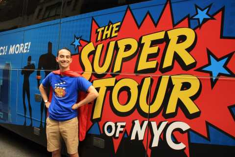 New York City: 3-Hour Superhero Bus Tour