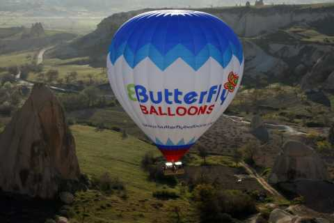 Cappadocia: Sunrise Hot-Air Balloon with Butterfly Balloons