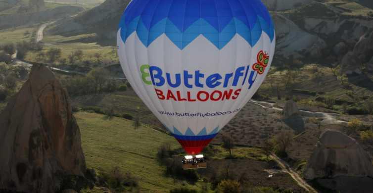 Cappadocia: Sunrise Hot-Air Balloon with Butterfly Balloons