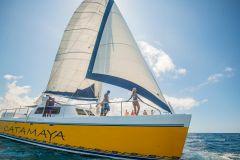 Puerto Aventuras: Cruzeiro Catamarã de Luxo 4 Horas