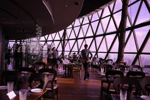 Oriental Pearl Tower: Revolving Restaurant Night Buffet