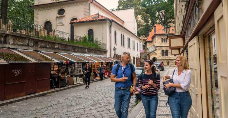 Prague: visite de 1,5h en vieille ville et quartier juif