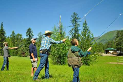 West Glacier: 1-Hour Fly Casting Lesson