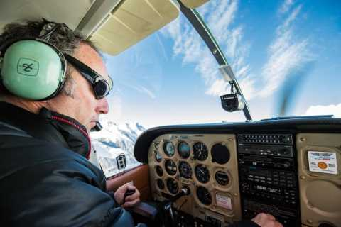 Mt Cook: 55-Minute Scenic Flight in Helicopter or Ski Plane