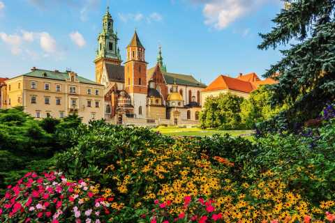Krakow: Wawel Castle and Wawel Hill Audioguide Tour