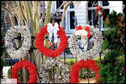 Charleston: Holiday Decorations and History Walking Tour