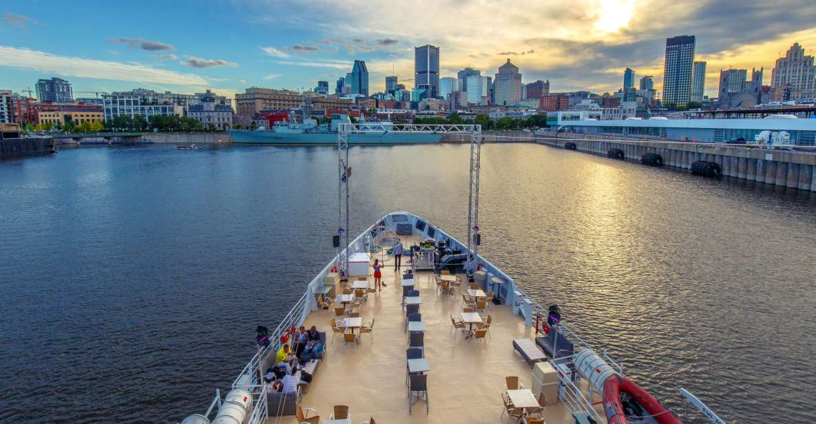 Montreal: St. Lawrence River Sightseeing Guided Cruise