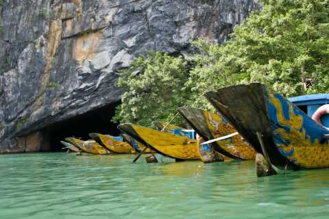 From Hue: Private Guided Tour to Phong Nha Cave with Lunch