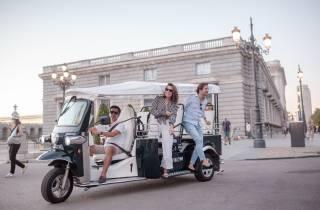 Madrid: Stadtrundfahrt im elektrischen Tuk-Tuk