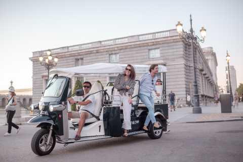 Madrid: Bytur med elektrisk Tuk-Tuk