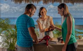 Cozumel: Seaside Chocolate Workshop and Wine Tasting
