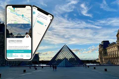 Paris: Mysteries and Legends Smartphone Audio-Guided Tour