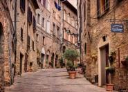 Ab Florenz: Privater Ganztagesausflug in die Toskana
