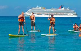 Cozumel: Paddleboard and Snorkel Tour