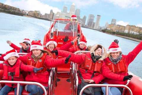 Londra: tour in motoscafo natalizio sul Tamigi
