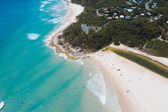 De Brisbane: Excursão de 1 Dia à Ilha de Stradbroke