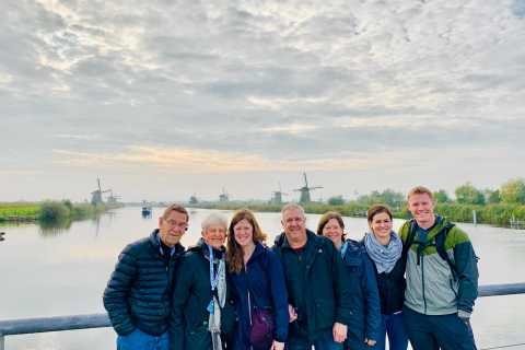 World Heritage Kinderdijk Windmills Tour