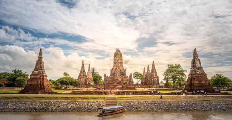 Bangkok: 2-Day Ayutthaya River Cruise with Food & Bike Tours