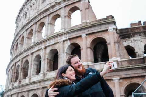 Terrazza del Vittoriano, Colosseo, foro Romano tour di 3 ore