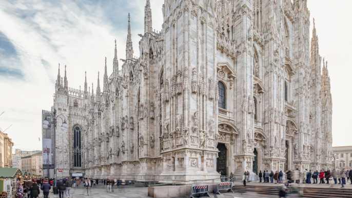 Milán: entrada a la catedral, la zona arqueológica y el museo
