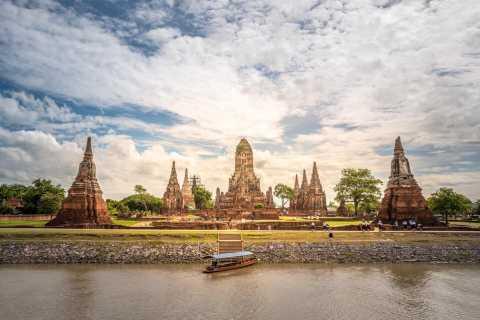Bangkok: 3-Day Ayutthaya River Cruise with Food & Bike Tours