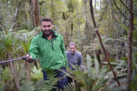 Franz Josef: Kayak & Walking Tour to Okarito Kiwi Sanctuary