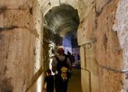 Rom: Führung durch die U-Bahn und Arena des Kolosseums