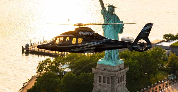 From New Jersey: NYC City Lights Helicopter Tour at Night