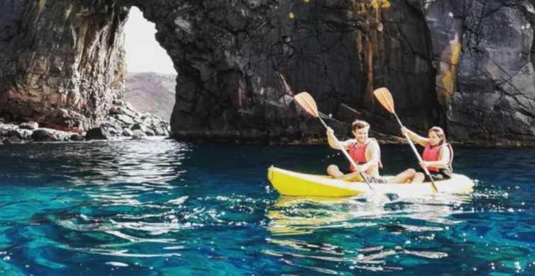 Madeira: Tour Guiado de Caiaque até Ponta de São Lourenço