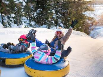 Québec (Stadt): Snow Tubing im Village Vacances Valcartier